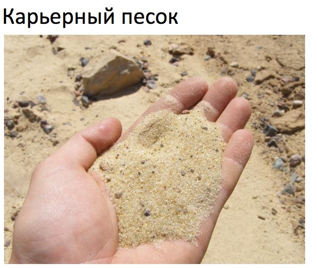 как мыть песок
