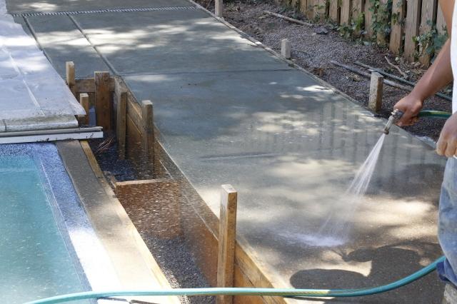 Ухаживание за бетоном бетон полотняный завод